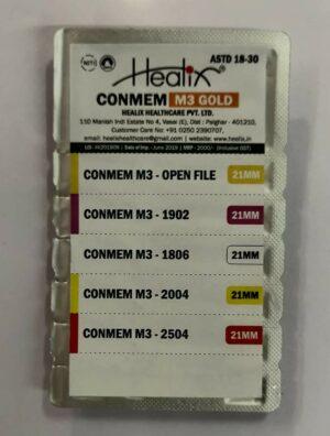 Healix Conmem 4% Tapered Rotary Files